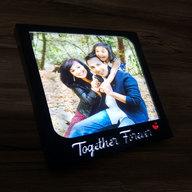 Together Forever LED Photo Frame