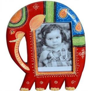Elephant Ethnic Photo Frame