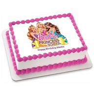 Barbie Photo Cake