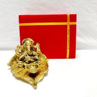 Ganesha Metallic Diya