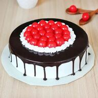 Black Forest Cake With Lots of Cherry
