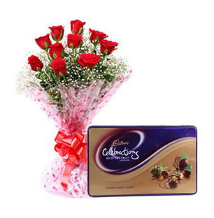 Rich Dry Fruit with Roses