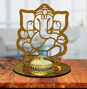 Ganesha Shadow Diya