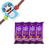 Cadbury Dairy Milk Silk with Kids Rakhi
