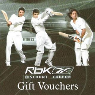 Reebok Gift Voucher