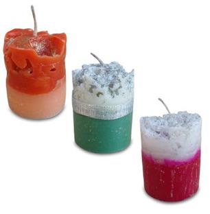 Set of Designer Candles