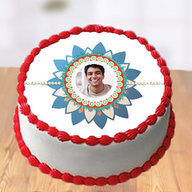 Bhaiya Photo Cake for Rakhi