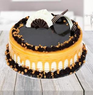 Choco Caramel Cake