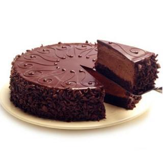 Valentine Belgian Chocolate Cake