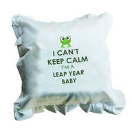 Leap year Birthday Cushion
