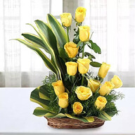 Yellow Roses Floral arrangement