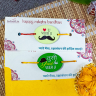 Great Veerji Rakhi Set