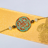 Handcrafted Mandala Rakhi