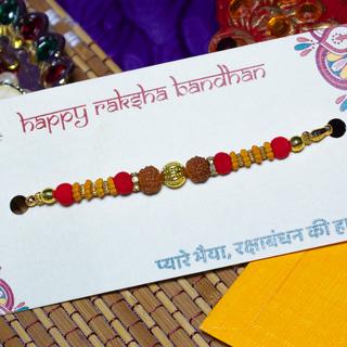 Rudraksh Moti Rakhi