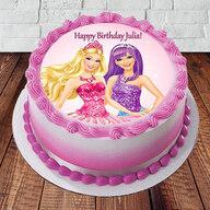 Barbie Happy Birthday Cake