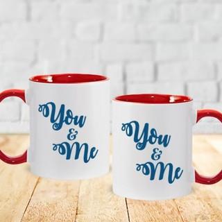 You & Me Couple Mug