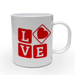 LOVE in Bold Personalised Mug