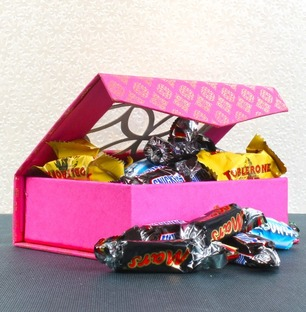Miniatures Imported Chocolate Box