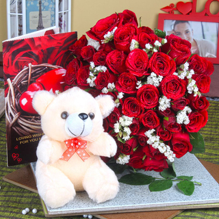 Valentine Red Hot Love combo