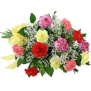 Mixed Carnation Basket