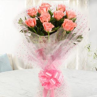 Ravishing  Peach Roses