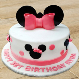 Minnie Mouse Cake Disney Minnie Mouse Cake Online In India