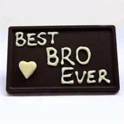 Best Bro ever Choco Bar
