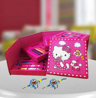 Color Kit with Kids Rakhi