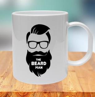 The Beard Man Mug