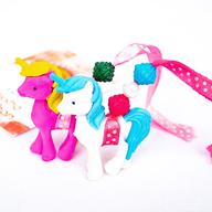 Pink and White Unicorn Lumba