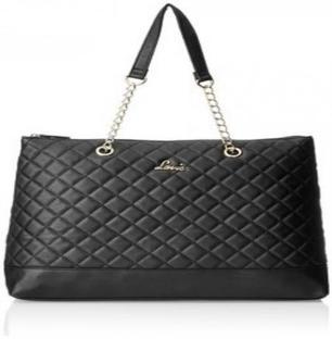 Lavie Black Large Tote Handbag