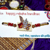 Beautiful Zardosi Rakhi