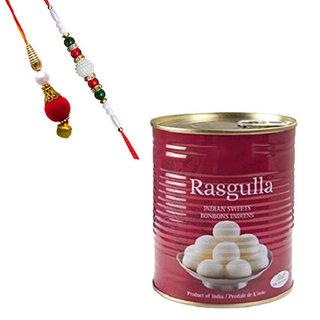 Rasgulla Tin with Lumba Rakhi
