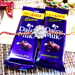 Shri Rakhi with Dairy Milk Chocolates