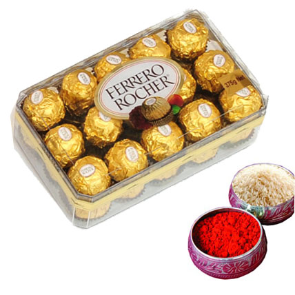 Chocolate with Roli Tikka