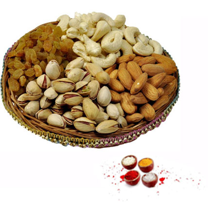 Dry Fruits with Rolli Tikka