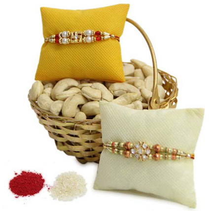 Dry Fruit Basket N Rakhi