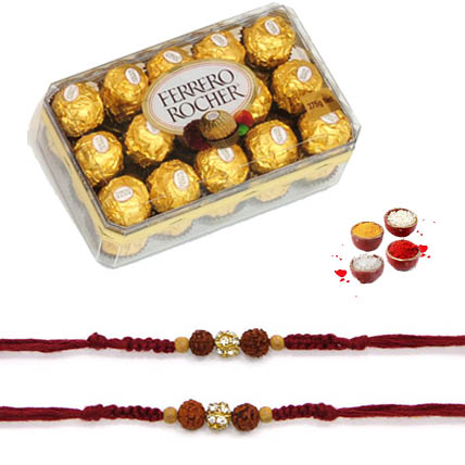 Ferrero Rocher with Rakhi of choice