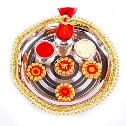 Diwali Pooja Thali