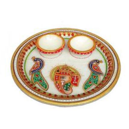 Marble Pooja Thali