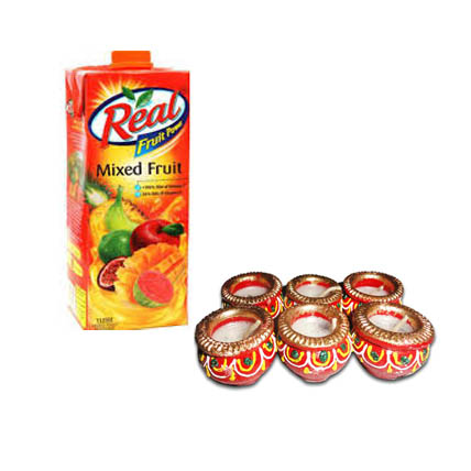 Fruit Juice & Diya