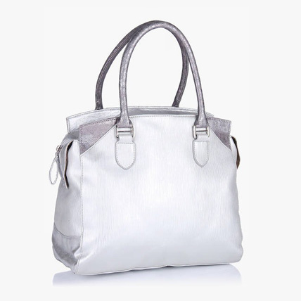 Ladies Handbag Baggit Silver