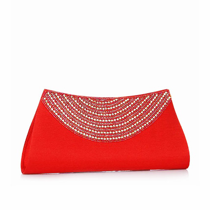 Ladies Formal Clutch- Red