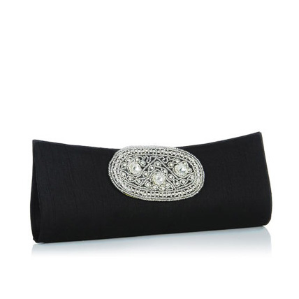 Ladies Formal Clutch- Black