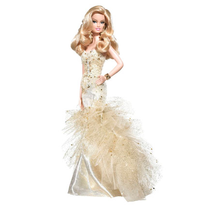 Barbie Doll in Fairy Gown