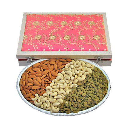 3 in 1 Dry Fruit Platter