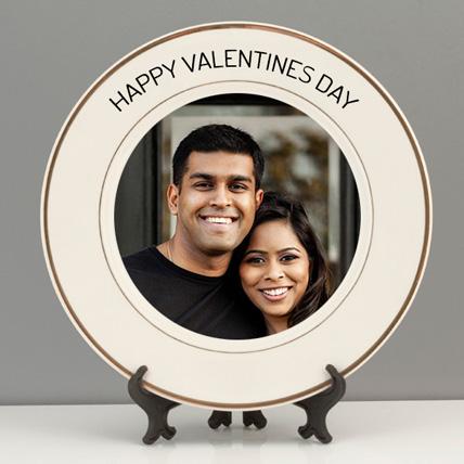 Valentine Personalised Plate