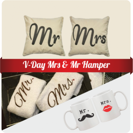 Valentine Mrs & Mr Hamper