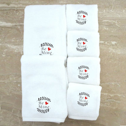 Personalised Towel Set- Be Mine