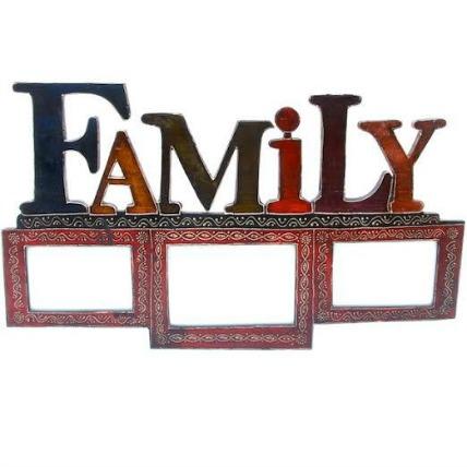 Family Wooden Photo Frame